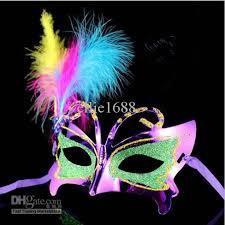 where can i buy mardi gras masks 20pcs lot plastic feather masks masquerade masks carnival masks