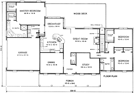 ranch floor plans with split bedrooms ranch with split bedroom design 4978k architectural designs