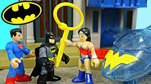 wonder women invisible jet batman smashes batmobile and batplane