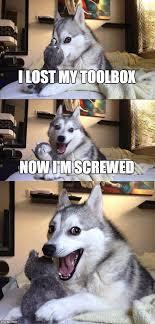Lost Dog Meme - bad pun dog meme imgflip
