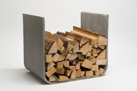 u board wood log holder log holders from lebenszubehoer by