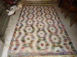 handmade rugs woolen cotton chindi rug manufacturers