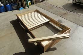 Folding Wooden Bed Bed In A Box 4 Steps With Pictures