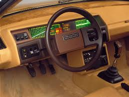 Car Interior Dashboard Design Bertone Volvo Tundra 1979 Autointerior From Ideas To Reality