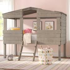 South Shore Imagine Loft Bed Girls Bed Wayfair