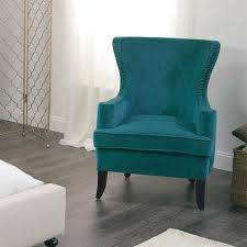 turquoise chair slipcover blue wing chair slipcover to best of navy blue chair light blue