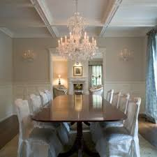 dining room beautiful rectangle chandelier for ceiling light