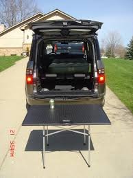 honda crv table just found out that my crv s spare tire cover is a table