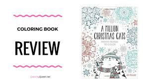 million christmas cats coloring book review