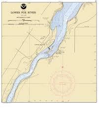 Wisconsin Rapids Map by Fox Locks Rapide Croche