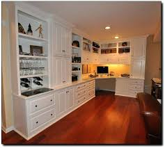Built In Corner Desk Ideas Home Office Corner Desk Ideas Corner Desk In Built In Cabinets