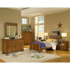 bedroom simple and neat picture of solid light oak wood trundle