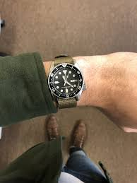 seiko srp77x does it work on a small wrist omega forums