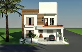 Home Design For 5 Marla by 3d Front Elevation 10 Marla Corner House Plan Design Of Tariq