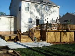 wood deck builders apex nc outdoor patio decks builders apex nc