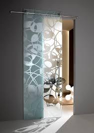 Interior Sliding Glass Doors Room Dividers Sliding Door Glass Printed Fly Casali Dividers Pinterest
