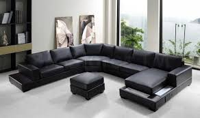 leather livingroom set furniture amazing leather reclining sectional sofa design