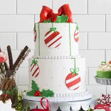 christmas ornaments cake fall u0026 winter desserts seasonal specials