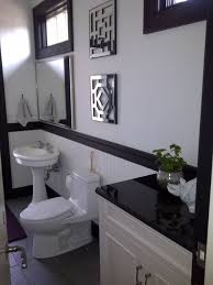 Vintage Powder Room Bathroom Remodeling In Fort Worth Texas With Robinson Builders