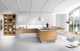 Spacious White Apartment Kitchen Design StyleHomesnet - Apartment kitchen design