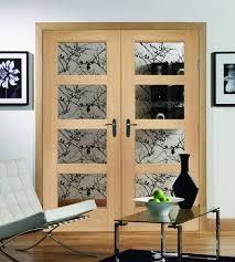 4 panel doors interior shaker oak 4 panel door with clear glass shawfield doors