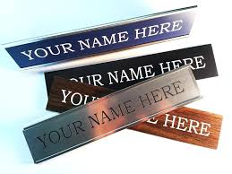 personalized office desk name plates india nameplate online