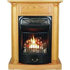 Vent Free Propane Fireplaces by Intermediate Vent Free Gas Fireplace In Cherry Procom Vent Free