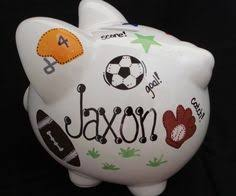 personalized baby piggy banks piper piggy bank done piggy banks
