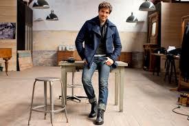tendencias en ropa para hombre otono invierno 2014 2015 camisa denim tiendas y marcas de moda hombre en valencia