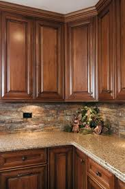 Backsplash Ideas For Kitchens With Granite Countertops Best 25 Stone Kitchen Backsplash Ideas On Pinterest Kitchen
