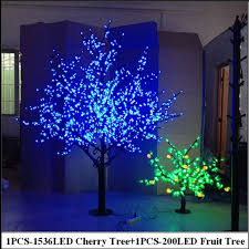 cheapest christmas outdoor lights decorations 2meter led cherry tree 0 8meter 200leds fruit tree indoor christmas