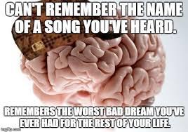 Remember The Name Meme - scumbag brain meme imgflip