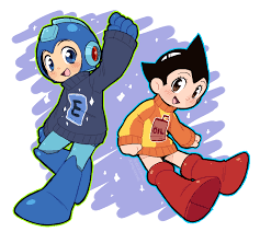megaman astro boy sweaters give atom