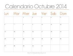 imagenes calendario octubre 2015 para imprimir organiza tu mes con estos lindos calendarios imprimibles calendario