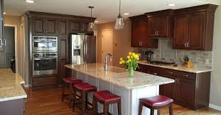 island peninsula kitchen leawood kitchen remodel transforms kitchen trades peninsula for
