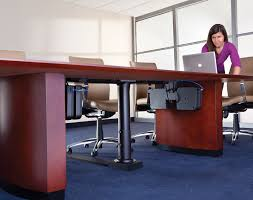 how to cable manage a desk enhance meeting room with advanced cable management retrofit
