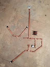 diy copper pipe lamp tutorial custom designed for small spaces