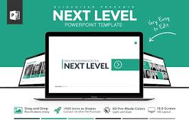 next level powerpoint template presentation templates creative
