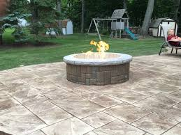 Ohio State Fire Pit by Tomaro Construction Co Inc Welcome Designs Restoration