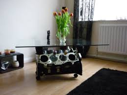 coffee table rover v8 engine coffee table wine rack engine block