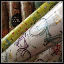 bicycle wrapping paper bike themed wrapping paper rideblog