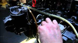timing mrsf diesel pump on a mercedes benz om616 engine youtube