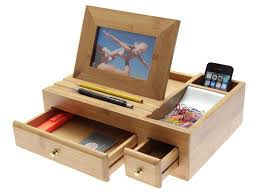 woodquail desk organiser u0026 photo frame u0026 reviews wayfair co uk