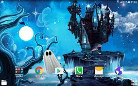 puppy background for computer halloween halloween live wallpaper android apps on google play
