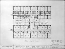 Architectural Floor Plan by Hotel Room Architectural Plans