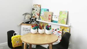 how to create a kids reading and craft nook youtube