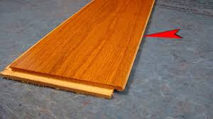 Laminate Flooring Hardwood Bruce Lock And Fold Hardwood Flooring Video Youtube