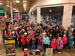 generous twist rotary helps kids shop for family friends
