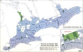 Ontario Canada Map Land Divisions Of Ontario Canada 2016 U2013 1605