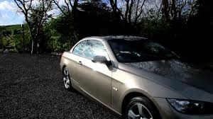 2008 bmw 3 series cabriolet detail youtube